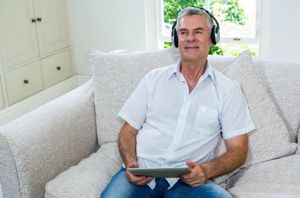 Door buurtbemiddeling geniet Wim weer van zijn muziek